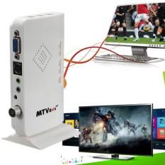 LCD VGA Eksternal TV PC Box Program Digital Penerima Tuner HD HDTV 1080 P + Speaker-Intl