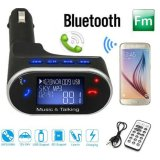 Jual Beli Lcd Wireless Bluetooth Mobil Kit Mp3 Player Fm Transmitter Modulator Remote Usb Sd Intl Tiongkok