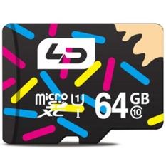 LD 64 GB Kartu Memori Micro SD Kelas 10 40 MB/s Perangkat Penyimpanan-Intl