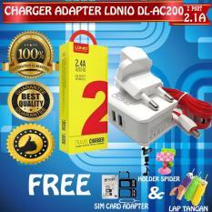 Berapa Harga Ldnio Universal Charger Adapter Dl Ac200 2 Port 2 1A Kabel Charger Micro Usb Gratis Holder Spider Karet Simcard Adapter Lap Tangan Di Dki Jakarta