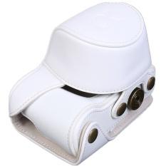 Kulit Tas Kamera Case Pu Penutup Kantong untuk Kamera ModelA5000A5100NEX 3Nr (Hitam) (Luar Negeri)-Intl