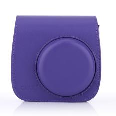 Harga Tas Kamera Kulit Penutup Untuk Fuji Polaroid Mini 8 Ungu International Oem Baru