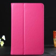 Leather Case Cover untuk Lenovo IdeaTab A8-50 A5500 8 Inch Tablet HOT Pink-Intl