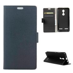 Com Merupakan E-commerce atau Pusat Belanja Online Terpercaya Dalam Menjual Dompet Kulit Berdiri For Lenovo K6 (hitam)-International