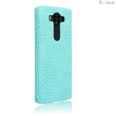 Leather Case untuk LG V10 H961S H961 H961N H 961 S Phone Bumper Fitted Case untuk LG V 10 HPF H960 H960A H962 LGV10 Hard PC Cover-Intl