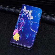 Leather Case untuk Samsung Galaxy J7 PRO 2017/J7 2017 Owl Love Dompet Gantungan dengan Slot Kartu Built-In Stand Case-Intl