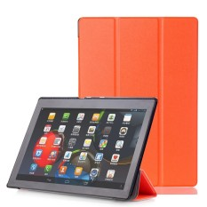 Kulit Case Smart Cover untuk LENOVO Tab3 10 Bisnis (TB3-X70F/N/L) 10.1 Inch ATAU-Intl