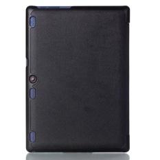 Kulit Case Smart Cover untuk LENOVO Tab3 10 Bisnis (TB3-X70F/N/L) 10.1 Inch BK-Intl