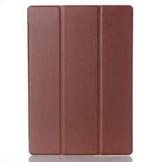 Leather Case Stand Cover untuk LENOVO TAB3 10 Bisnis BW-Intl