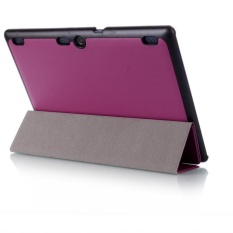 Leather Case Stand Cover untuk LENOVO TAB3 10 Bisnis PP-Intl