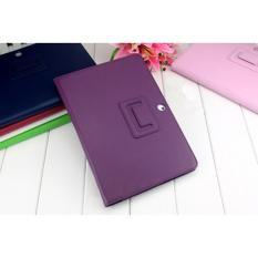 Leather Case Stand untuk Samsung Galaxy Tab 2 10.1 P5100 P5110 P5113 Ungu-Intl
