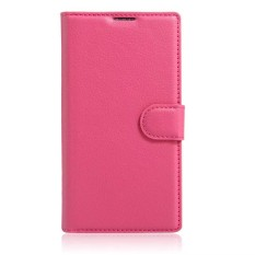 Leather Flip Cover Phone Case Wallet Card Holder For Alcatel idol 2 Mini S / 6036Y - intl