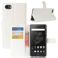 Kulit Flip Penutup Ponsel Case Dompet Card Holder untuk BlackBerry Motion-Intl