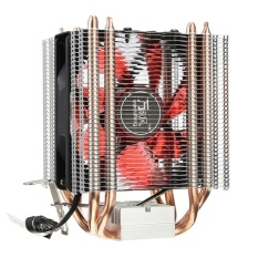Harga Led 4 Heat Pipe Quiet Cpu Cooler Radiator Heatsink For Intel Lga 1155 1156 Amd Red Intl Not Specified Asli