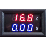 Jual Led Dc Dual Digital Voltmeter Original