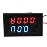 Promo Led Digital Panel Display Volt Meter Gauge Car Voltmeter Ammeter Dc 100V 100A Intl