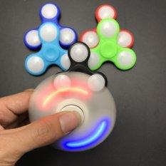 "Lampu LED Fidget Spinner Finger ABS EDC Tangan Spinner Tri Bandung Photo: ""-anak Autisme ADHD-Intl"