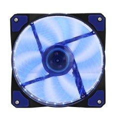 Harga Led Lampu Silent Penggemar Bercahaya Memancar Heatsink Cooler Kipas Pendingin Untuk Pc Komputer Biru Yang Murah