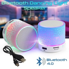 LED MINI Portable Wireless Bluetooth Speaker TF USB Music Sound Subwoofer - Random