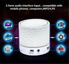 Diskon Produk Led Mini Speaker Portabel Bluetooth Nirkabel Tf Usb Musik Suara Subwoofer Box