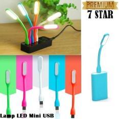 LED Mini USB Light Powerbank - Lampu Baca - Laptop Multifungsi - Random Colour