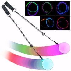 Led Multi Berwarna Cahaya Poi Bola Lempar Cahaya Untuk Belly Dance Alat Peraga Tangan-Intl By Mimar Upup.
