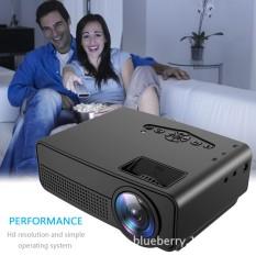 LED Projector Home HD 1080P Wireless Intelligent Wifi Theater Gift Factory Direct OEM Projector - intl
