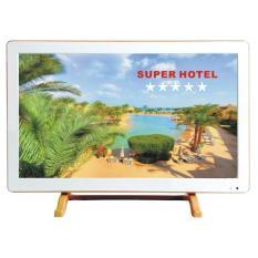 LED TV HOTEL CMM 21 inch Slim VGA HDMI USB Kiosk Movie Logo boot kustom