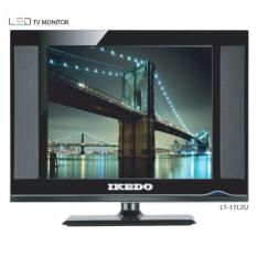 LED TV Ikedo 17 Inch LT-17L2 USB Movie , HDMI , VGA , PC , Monitor KHUSUS JADETABEK
