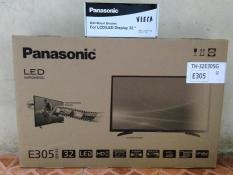 Led Tv Panasonic 32 Inch Free Bracket TH32E305G USB Mov Murah