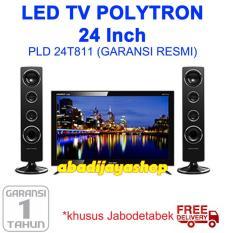 LED TV POLYTRON 24 Inch Tower Speakr PLD24T811 / PLD 24T811