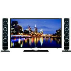 LED TV POLYTRON 32 Inch PLD32T100 PLD 32T100 + SPEAKERS (BLACK)
