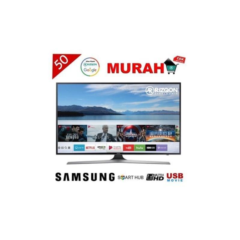 LED TV SAMSUNG 50 SMART TV FLAT UHD 4K 50KU6000 GARANSI RESMI