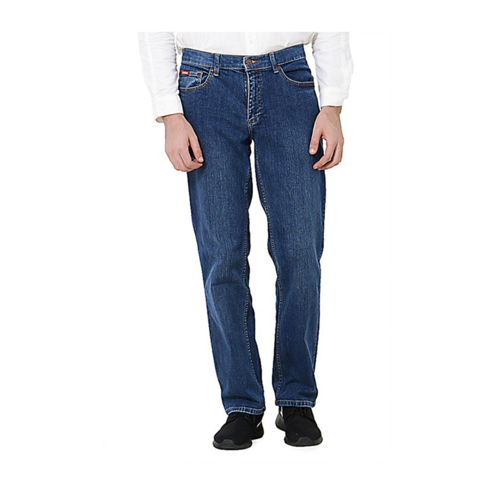 Lee Cooper Jeans Pria Regular Fit Mid Indigo Lc 110