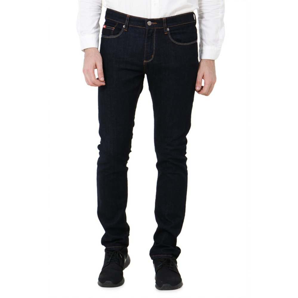 Promo Lee Cooper Jeans Pria Slim Fit Dark Indigo Lc 114 Lee Cooper