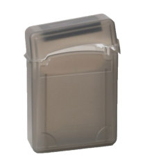 Leegoal 6.35 Cm IDE SATA HDD Kotak Penyimpanan Hard Drive Case Pelindung, Kopi-Internasional