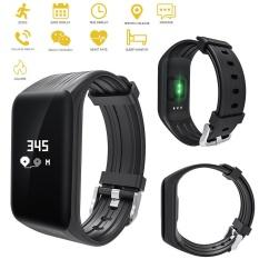 Promo Leegoal 2017 S908 Gps Smart Band Denyut Jantung Gelang Tidur Monitor Kebugaran Pedometer Ip68 Tahan Air Smart Gelang Watch Sport Tracker Intl