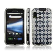 Leegoal Diamond Pattern Skin Fit Slim Penutup Telepon Protective TPUCase untuk Motorola Atrix 4g MB860 (Transparan Warna) -Intl