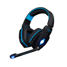 Beli Every Profesional 3 5Mm Stereo Headset Gaming Pc Laptop Membatalkan Suara With Mikrofon Telepon Kepala Pengemudi Hi Fi Hitam Biru Leegoal Internasional Online Terpercaya