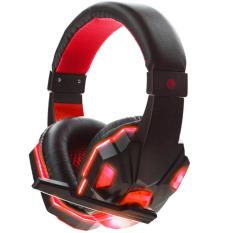 Jual Leegoal Panas Usb 3 5 Mm Stereo Surround Headset Gaming Bando Telepon Kepala Dengan Mikrofon Untuk Pc Murah Di Tiongkok