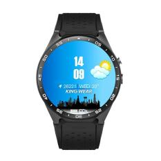 Leegoal KW88 3G Wifi Smartwatch Ponsel All-In-One Bluetooth Jam Tangan Pintar Android 5.1 Kartu SIM dengan GPS, kamera, Monitor Denyut Jantung, Google Map, Google Play