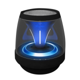 Toko Jual Mini Speaker Bluetooth Portabel Led And Nirkabel Leegoal For Tablet Pc Smartphone Hitam Intl