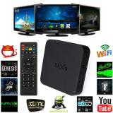 Toko Leegoal Quad Core Android 4 4 Tv Box Media Player 1080P Hdmi Wifi 8 Gb Hitam Online Terpercaya
