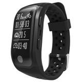 Harga Leegoal S908 Gps Smart Band Dengan Denyut Jantung Tidur Monitor Sedentary Pengingat Pedometer Ip68 Tahan Air Kebugaran Pelacak Untuk Ios Android Hitam Intl Yang Murah Dan Bagus