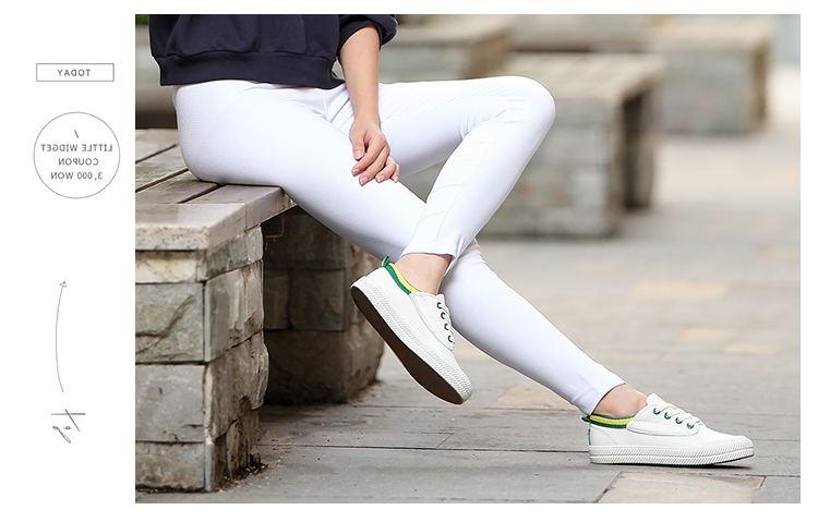 Review Toko Legging Putih Musim Semi Celana Pensil Katun Hitam Putih Produk Yang Sangat Baik Tidak Melalui Baju Wanita Celana Wanita Online