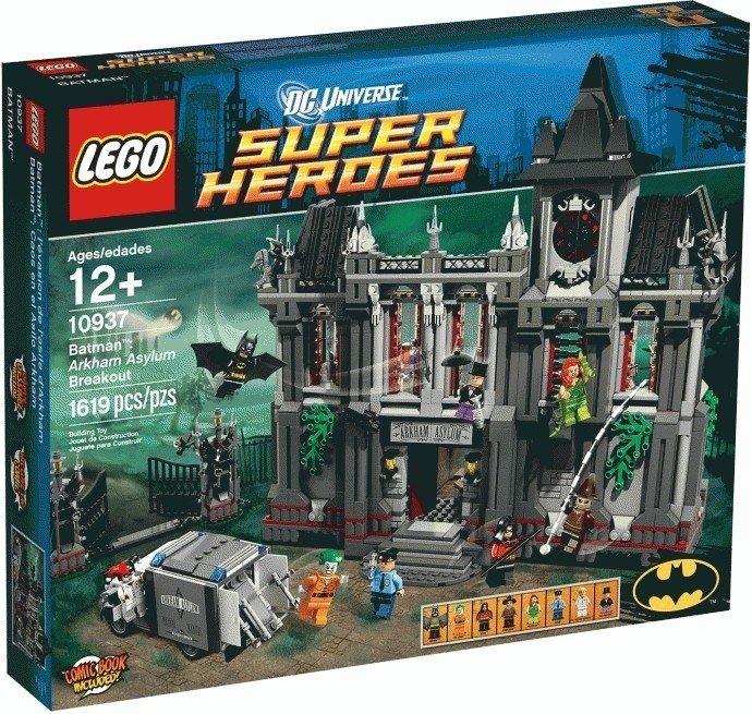 Kualitas Lego 10937 Dc Universe Super Heroes Batman Arkham Asylum Breskout Lego