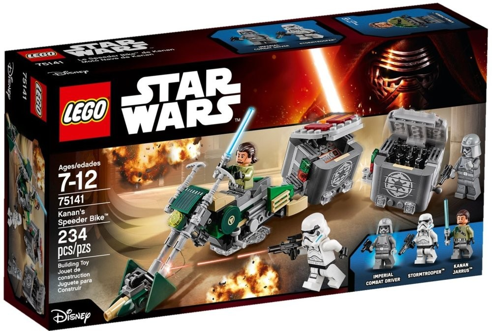 Spesifikasi Lego 75141 Starwars Kanan S Speeder Bike