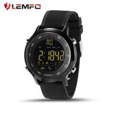 Model Lemfo Ex18 Pedometer Smart Watch Pesan Pengingat Untuk Android Untuk Ios Ponsel Hitam Terbaru