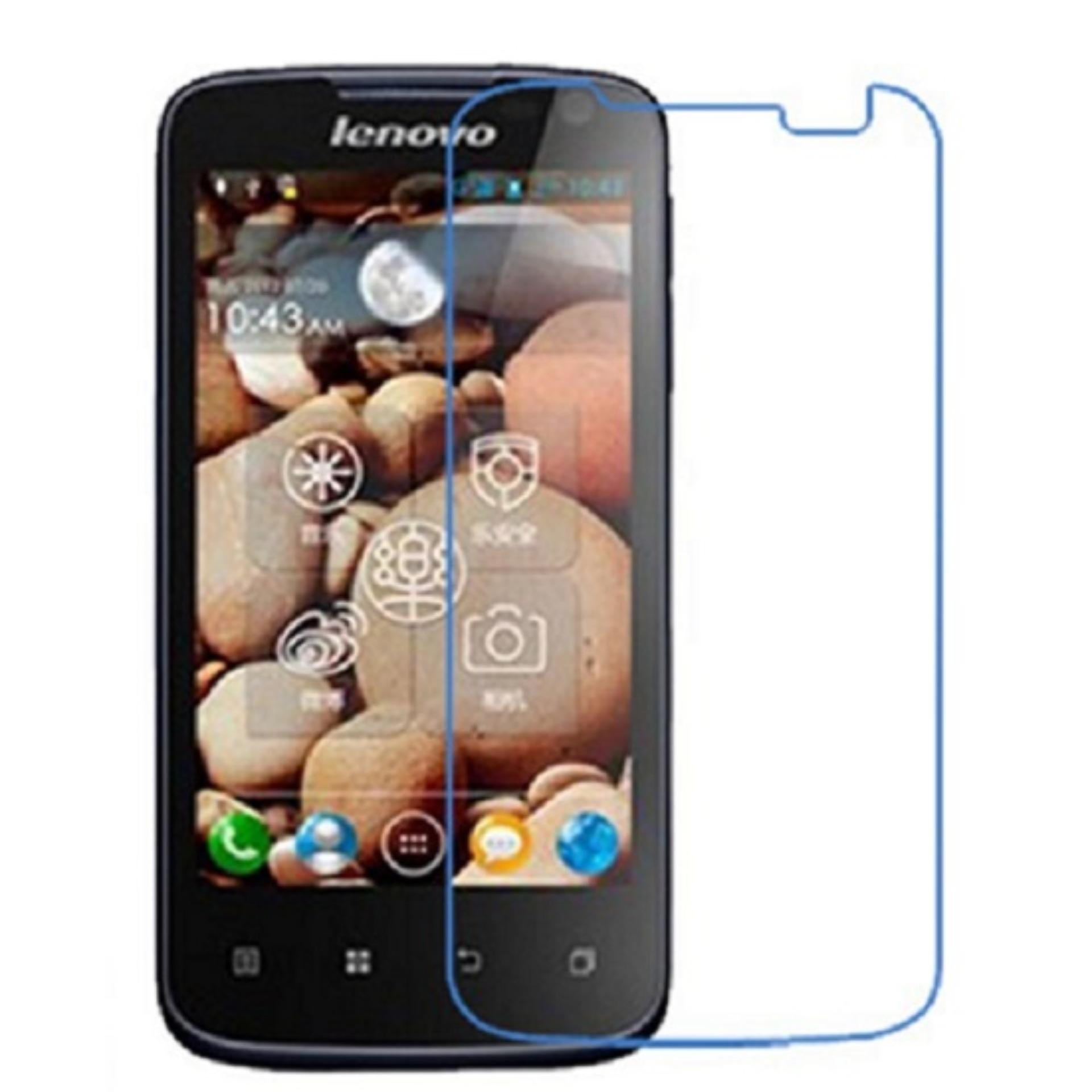 Vn Lenovo A516 Tempered Glass Screen Protector 0.32mm - Anti Crash Film - Bening Transparan