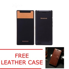 Lenovo A588t Flip Android Quad Core Dual SIM ROM 4GB - FREE LEATHER CASE